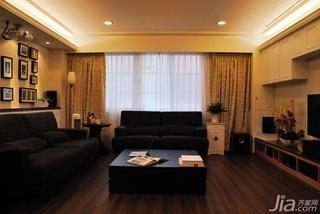 简约风格三居室富裕型客厅吊顶沙发效果图