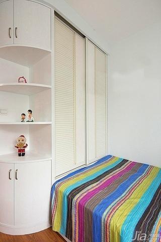 简约风格二居室富裕型90平米卧室衣柜设计图纸