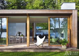 浅色地板成就丹麦开放式别墅夏日清凉