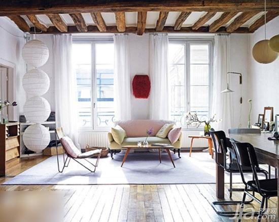 12款客廳地板帶你享受家居清閑