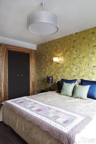 新古典风格二居室富裕型130平米卧室卧室背景墙床效果图
