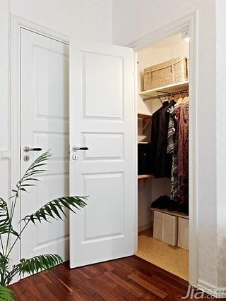 简约风格一居室经济型80平米衣帽间装修效果图