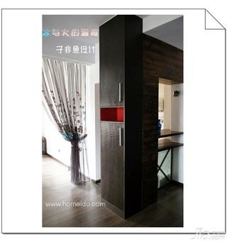 混搭风格公寓经济型80平米门厅鞋柜效果图
