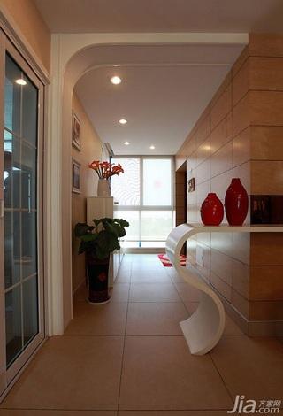 简约风格二居室富裕型90平米吊顶婚房家装图
