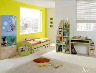 混搭风格儿童房儿童床图片