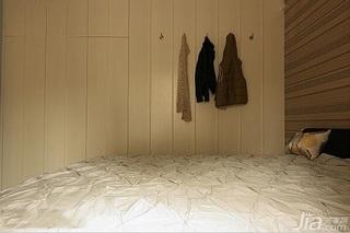 混搭风格三居室富裕型120平米卧室衣柜设计图
