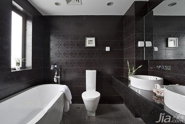 简约风格二居室富裕型卫生间洗手台效果图图片