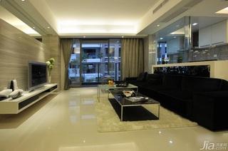 简约风格富裕型客厅客厅隔断沙发效果图