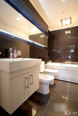 简约风格富裕型卫生间浴室柜效果图