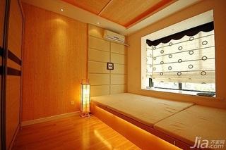 混搭风格三居室富裕型110平米卧室地台装修效果图