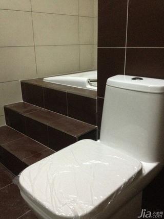 简约风格小户型50平米卫生间楼梯效果图