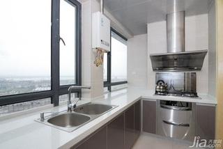 简欧风格二居室15-20万厨房效果图