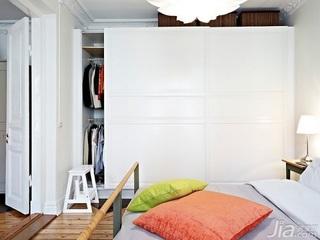 北欧风格公寓5-10万90平米卧室衣柜设计图纸