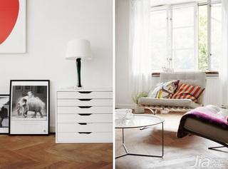 北欧风格小户型经济型客厅灯具效果图
