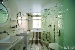 简约风格公寓小清新富裕型130平米主卫装修效果图