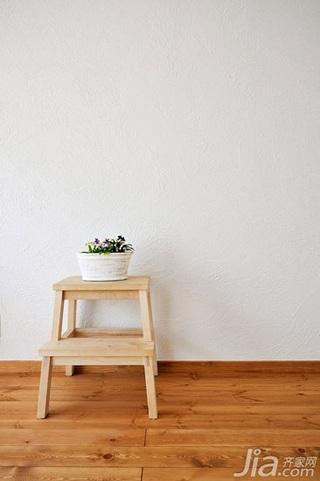 田园风格小户型小清新白色20万以上40平米装修效果图