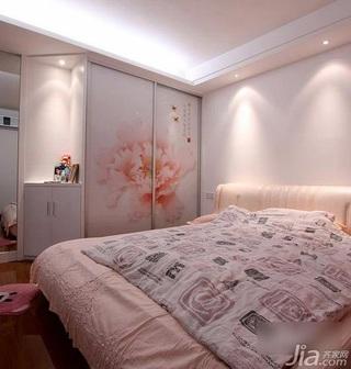 三居室3万-5万90平米卧室衣柜设计图纸