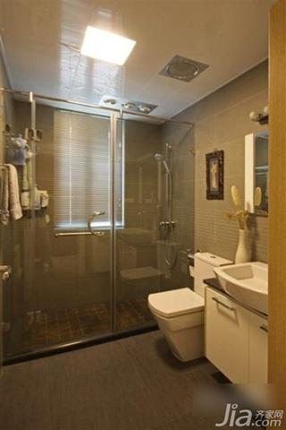三居室3万-5万90平米主卫洗手台效果图