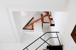 跃层白色140平米以上阁楼楼梯装修效果图