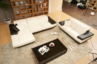简约风格白色客厅沙发图片