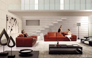 简约风格大气客厅沙发效果图