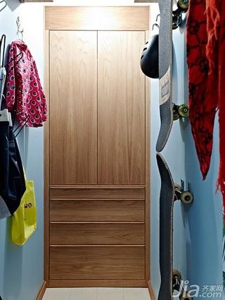 北欧风格二居室60平米储藏室效果图