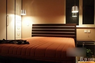 小户型40平米卧室床图片
