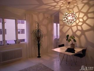 简约风格公寓餐厅灯具效果图