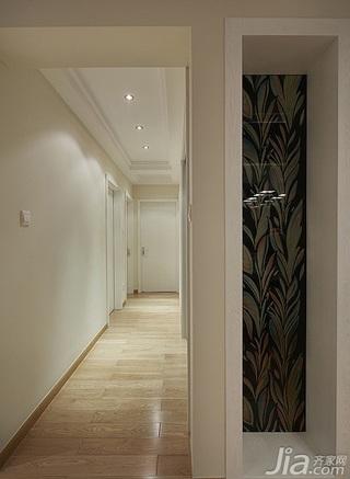 简约风格四房温馨富裕型140平米以上书房过道装修效果图