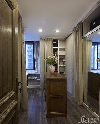 美式乡村风格跃层豪华型140平米以上衣帽间衣柜设计