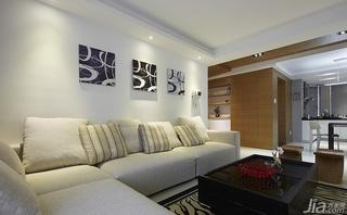 简约风格跃层20万以上客厅沙发效果图