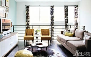 公寓经济型客厅沙发图片
