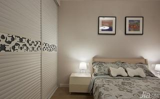 简约风格二居室富裕型衣柜设计图纸