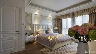 三居室15-20万140平米以上卧室窗帘效果图