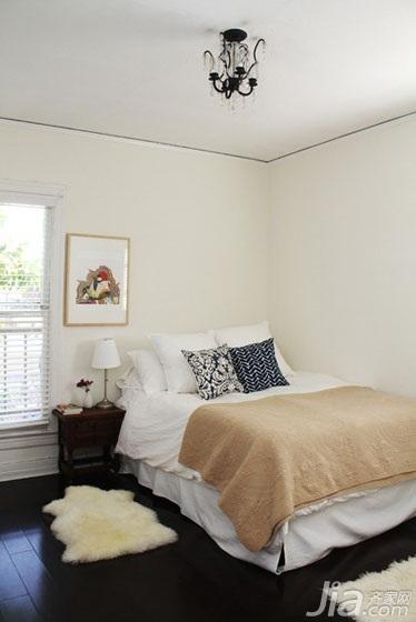 公寓温馨经济型70平米卧室床效果图