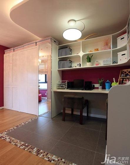 简约风格二居室80平米衣柜图片