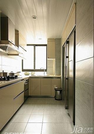 小户型厨房吊顶橱柜效果图