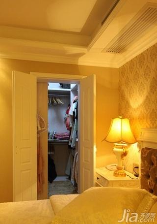 欧式风格二居室80平米衣帽间效果图