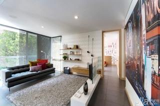 简约风格公寓温馨客厅隔断沙发效果图