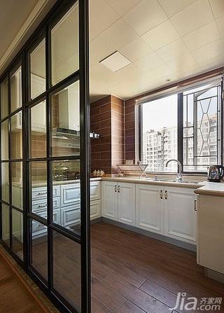 简约风格三居室130平米厨房装修