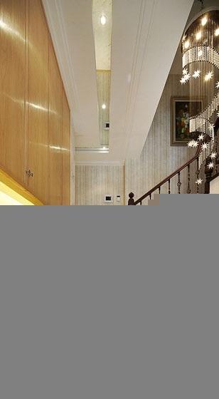 新古典风格20万以上140平米以上阁楼楼梯效果图