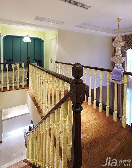 复式豪华型140平米以上楼梯装修效果图