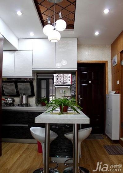 简约风格二居室50平米厨房装修