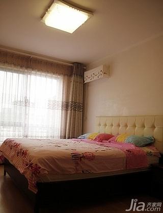 简约风格复式140平米以上卧室窗帘效果图