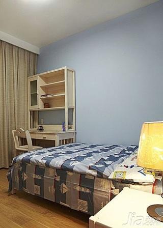 简约风格二居室100平米儿童房设计图