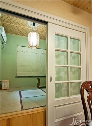 美式乡村风格三居室120平米书房榻榻米图片