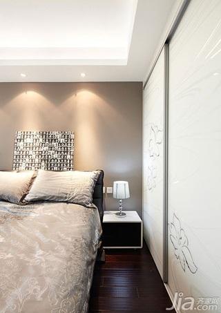 简约风格二居室20万以上卧室衣柜设计图