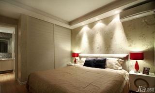 简约风格二居室15-20万卧室卧室背景墙衣柜设计图纸