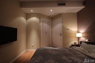 简约风格公寓80平米卧室衣柜婚房设计图纸