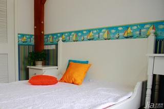田园风格二居室可爱经济型儿童房儿童床图片